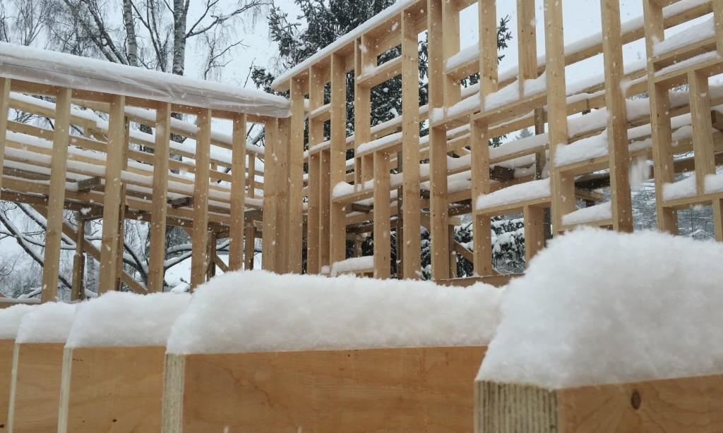 Lunta tuvassa